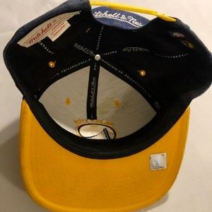 Mitchell & Ness Accessories - Golden state SnapBack
